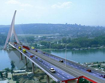 za ukupnu brigu o gradu i projekat izgradnje mosta preko Ade Ciganlije